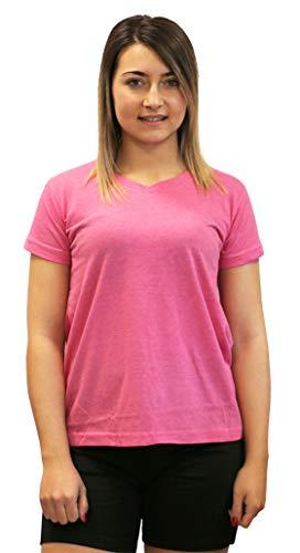 Softee T-Shirt pour Femme M Rose Bonbon