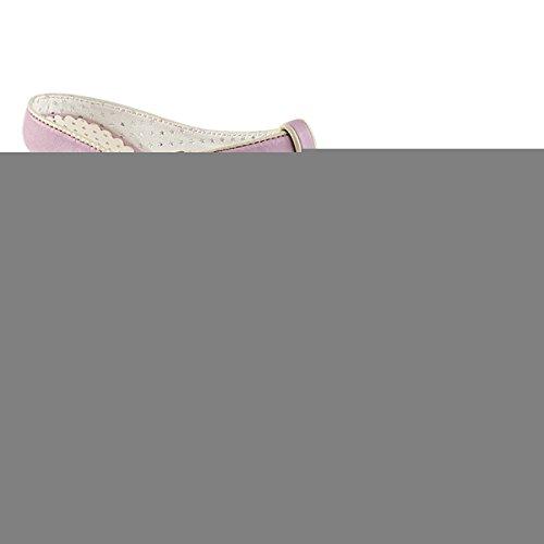 Pin Up Couture Muiltjes met hak -36 Shoes- SIREN-09 US 6 Paars/Roze