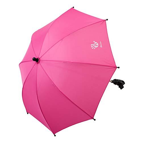 AltaBeBe, AL700016 Sonnenschirm 70 cm Durchmesser mit UVSchutz pink, rosa