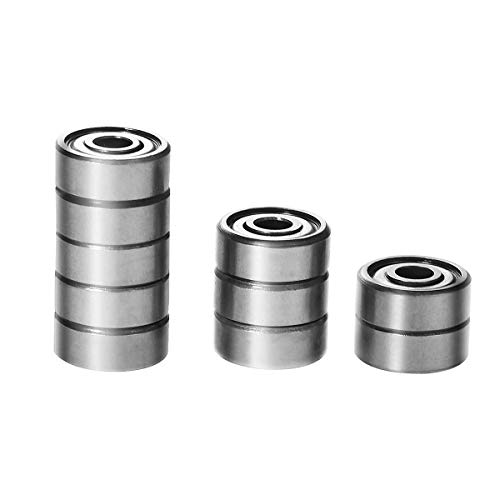3x 6901 2RS Rubber Sealed Deep Groove Ball Bearings 12x24x6 mm