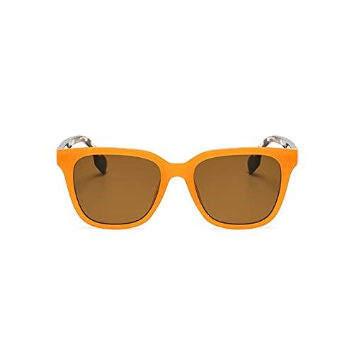 AMFG Fashion Square Gafas de sol Femenino Color Color Sunglasses Hombre Conducción Espejo Decoración al aire libre (Color : B)