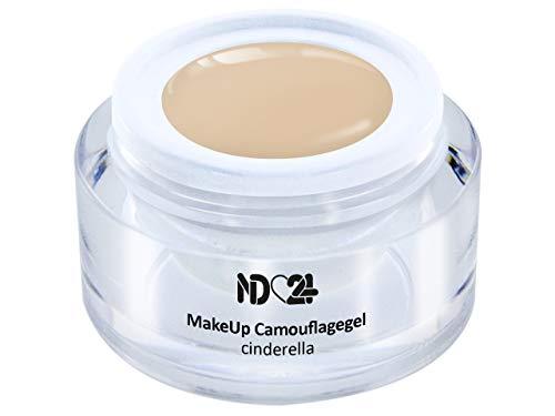 Make Up Camouflage Aufbau - Gel Cinderella - Babyboomer- Studio Qualität - Made in Germany - 15ml