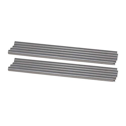 Utoolmart Runde Stahlstange, 4,2 mm HSS-Drehmaschine, 100 mm lang, für Wellengetriebe, Bohrmaschinen, Drehmaschinen, Mini-Achse, zylindrischer Stift, Heimwerker-Werkzeug, 10 Stück