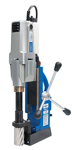 Hougen HMD917 Magnetic Drill 2 Speed & Coolant - 115V Our Most Powerful Two Speed Mag Drill for Heavy Duty Fabrication