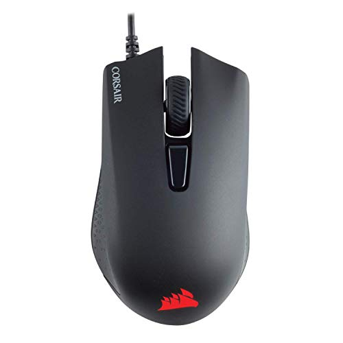 Corsair Harpoon PRO RGB-Gaming-Maus, leichtes Design, optischer Sensor mit 12.000 DPI