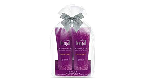 Miss Fenjal Touch of purple Geschenk-Set Duschgel + Body Lotion je 200 ml