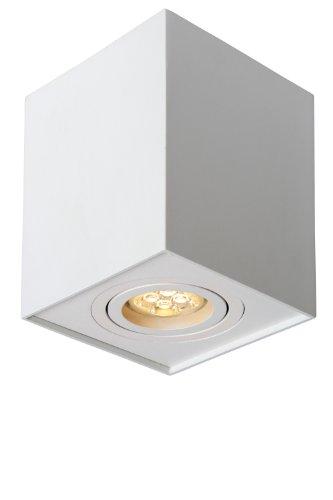 Lucide TUBE - Spot Plafond - GU10 - Blanc