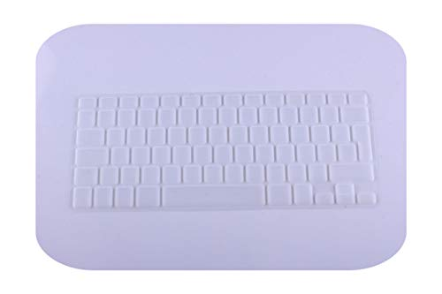 Laptop Keyboard Protective Film Waterproof For MacBook Pro air 13'15' Russian EU Notebook Keyboard Cover Dustproof Film Silicone-Clear-