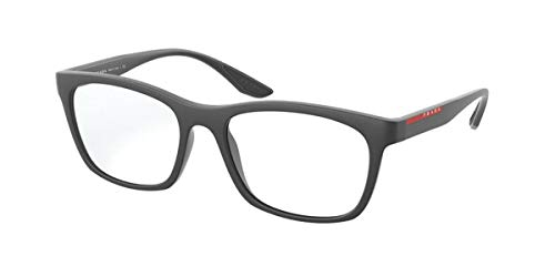 Prada Sport - Gafas de vista unisex para adulto PS 02NV, OAS1O1, 53