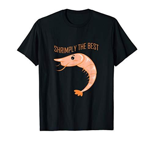 Lustiges Garnelen Essen Shrimp Outfit für Meeresfrüchte Koch T-Shirt