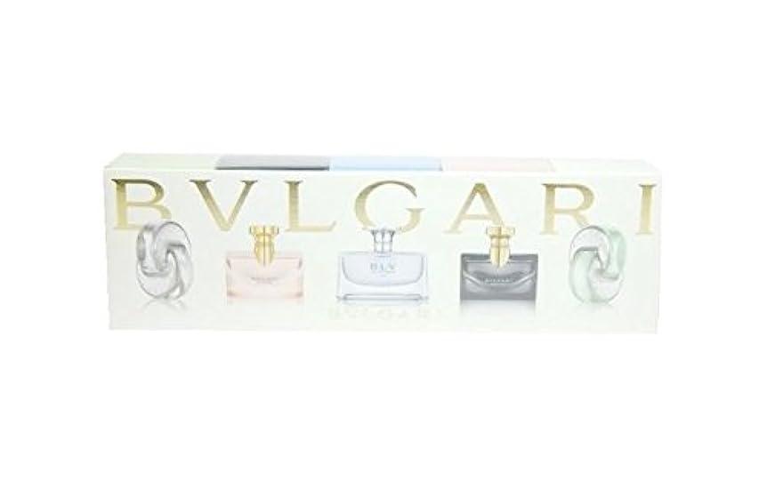 ボイラーパドル高めるブルガリ ウィメンズ ミニチュア コレクション 5ml×5 (並行輸入) ミニチュア香水 セット