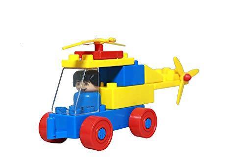 NEEJAN Helicopter Set Building Block Game