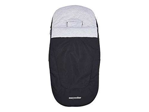 Easywalker Fußsack Night Black