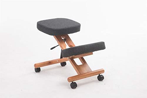 Ergonomic kneeling chair, kneeling chair, orthopedic chair, computer chair for myopia prevention, office chair, adjustable wooden frame kneeling stool, orthopedic chair for home office