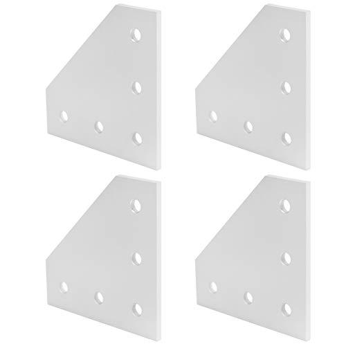 Placa de refuerzo práctica, placa de unión, placa de conexión, para impresora 3D para la industria de la construcción(3030L type)