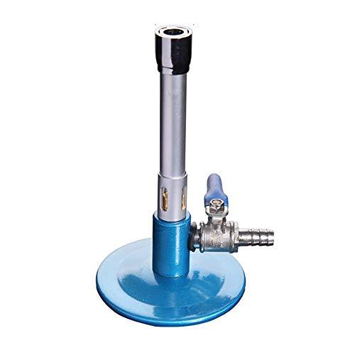 LOJALS Mechero Bunsen, Quemador Bunsen De Gas De Un Solo Tubo, LáMpara De Gas para TéCnico, Luces De Gas para Equipos De Laboratorio Dental,A