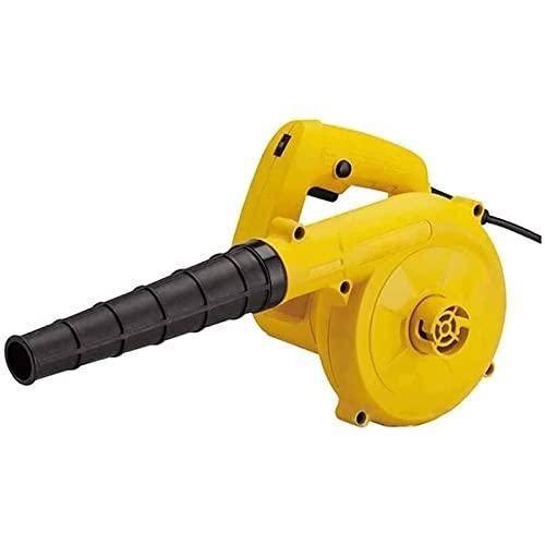 Soplador de mano Soplador de la hoja de energía eléctrica inalámbrica, ajuste de viento de 6 velocidades y 40 mm de diámetro grande 600W 2-en 1 aspirador de mano / barredora, for hojas de soplado / ni