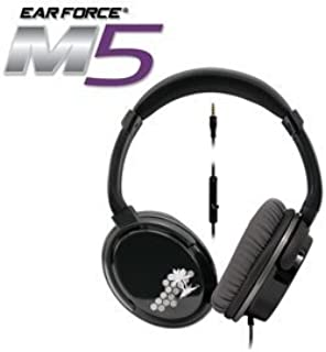 Turtle Beach Ear Force M5 Silver Mobile Gaming Headset with mic