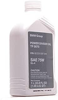 BMW (03-13) Transfer Case Fluid (1 Liter) GENUINE Shell TF-0870