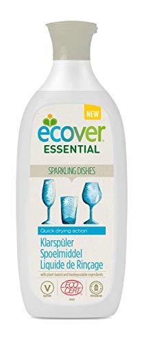 Ecover Liquide de Rinçage pour Lave-Vaisselle - Lot de 4
