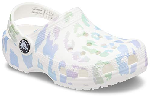Crocs Unisex-Child Kids' Classic Animal Print Clog