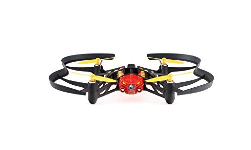 Parrot MiniDrones Airborne Night Drone Blaze (Red)
