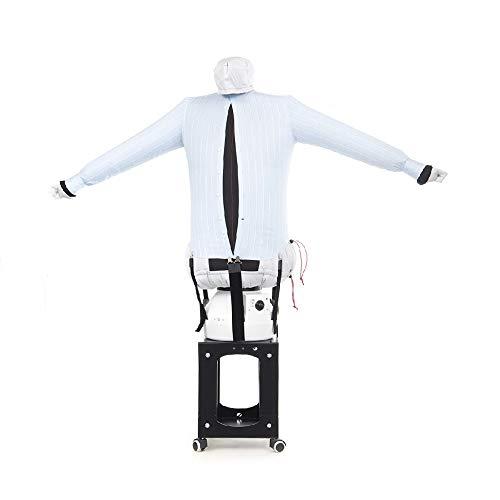 EOLO RepaSSecheur Repasse Sèche automatiquement Chemises, Chemisiers. Rafraîchir vêtements avec air Froid Repassage Vertical Professionnel Base de Support avec 4 Roues. Garantie 7 Ans SA11