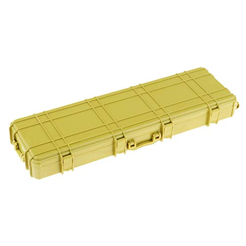 Perfeclan 1/10 RC Rock Crawler Suitcase Box Case Yellow for Axial SCX10 C001 Accessory