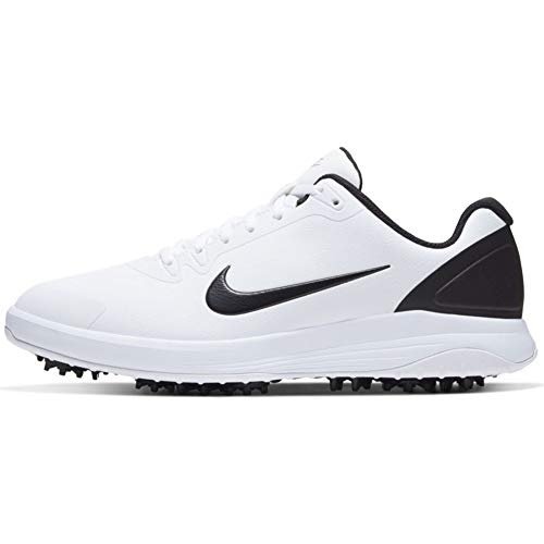 Nike Unisex Infinity G Golfschuh, Schwarz Weiß, 42.5 EU