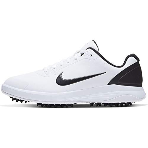 Nike Infinity G, Zapatos de Golf Unisex Adulto, Blanco/Negro, 41 EU