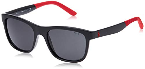 Ralph Lauren POLO 0PH4120 Gafas de sol, Shiny Black, 55 para Hombre