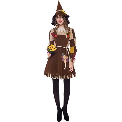Shangrui Disfraz de Halloween Disfraz de Espantapjaros