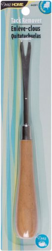 Dritz Home 44291 Wood Handle Tack Remover, 6-Inch