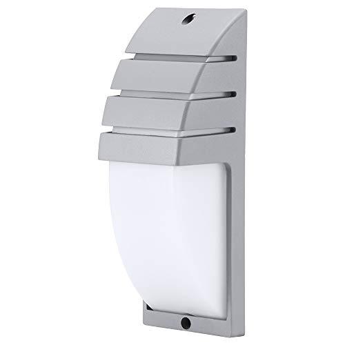 ZONJIE Lámpara de pared colgante LED COB de 8 W, luz nocturna fácil e impermeable, luces de seguridad LED ultrabrillantes, para dormitorio, acera, sala de estar