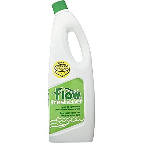 Flow Liquido Sgrassante Per Serbatoi Acque Grigie Fragranza Limone - 2000 Ml