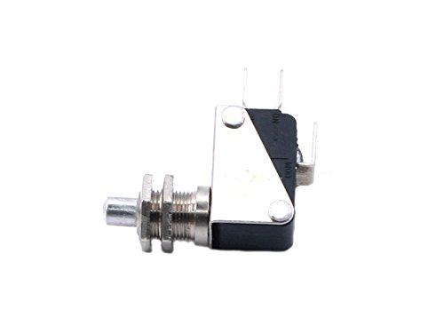 842500391para fritura, Caldero, Kombi Sordina M10x 116A 1pines 1CO plano conector 6,3mm con impresión lápiz