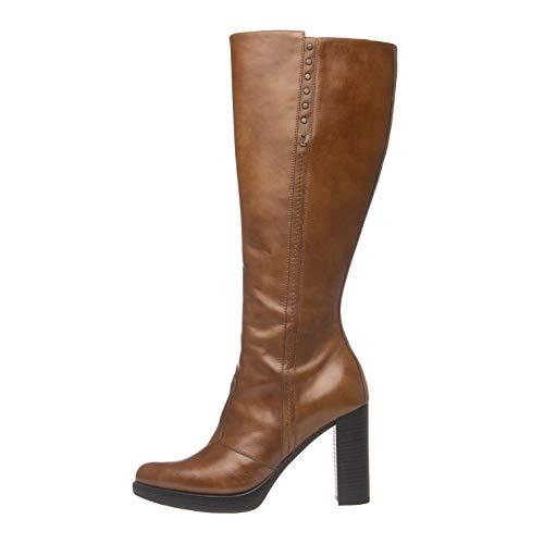 Nero Giardini Naloete Cuoio TPU, Stivali Alti Donna, Beige (Leather 400), 40 EU