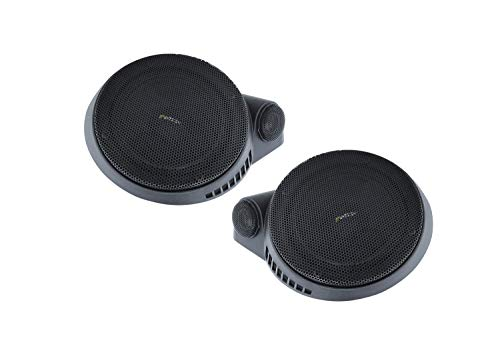 ETON AG 100.2: 10 cm Lautsprecherset, Komponentensystem zur Aufbau und Einbau Montage, geeignet zur Decken oder Dach Installation in Reisemobilen, Wohnmobilen