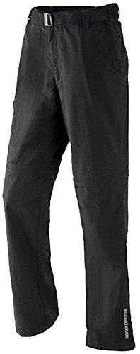 CRIVIT® Herren Trekkinghose mit Zip-off-Funktion auf Bermudalänge (Gr. 52, schwarz)