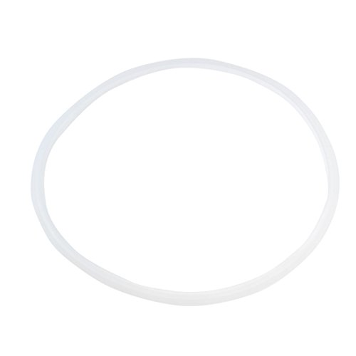 uxcell Rubber Sealing Gasket Ring for Cooker 26cm 2 Pcs Clear White