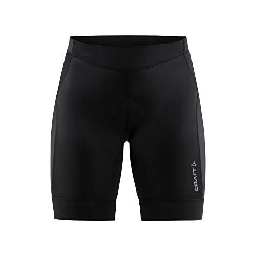 Craft Sports Apparel Collant de Cyclisme pour Femme UPF 50+ avec Coussinet en Peau de Chamois XL Noir
