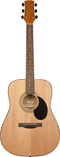 This is the Jasmine S35 Dreadnought Acoustic Guitar in Natural Finish