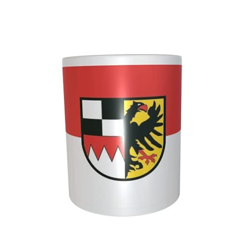 U24 Tasse Kaffeebecher Mug Cup Flagge Mittelfranken