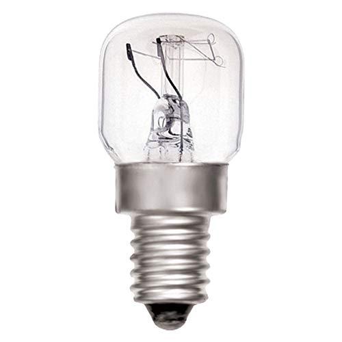 Value Concepts Backofenlampe (25W, E14, für Betrieb bis 300°C, 230V, teflonbeschichtet, intern abgesichert, 4 Stück) Von Value Concepts