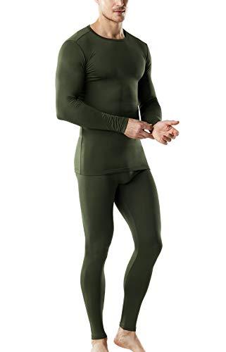 TSLA Conjunto de camiseta y parte inferior de microfibra para hombre con forro polar Mhs100 1pack - Ovillo de lana M