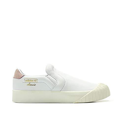 adidas Everyn Slipon W - ftwwht/ftwwht/ashpea