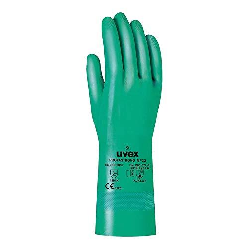 Uvex Ruvex-Strong_7 Schutzhandschuhe, Grün, 7 Größe