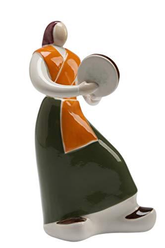 Galos Figura de Porcelana Alborada Mujer Pandereta (27)