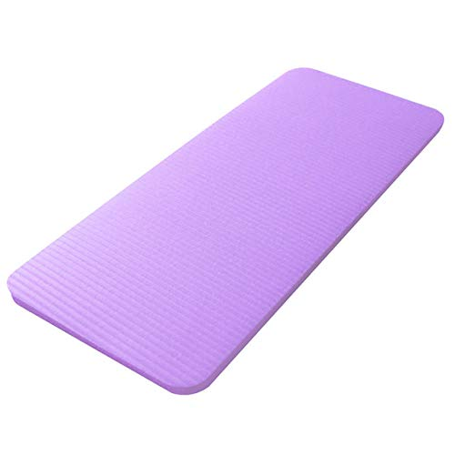 Dqianyu TPE Gymnastikmatte,Trainer Force Core Training Tool Fitness Knie Ellbogen NBR Pad Outdoor-Übung Gymnastik Training Pilates Yoga Mat-Purple