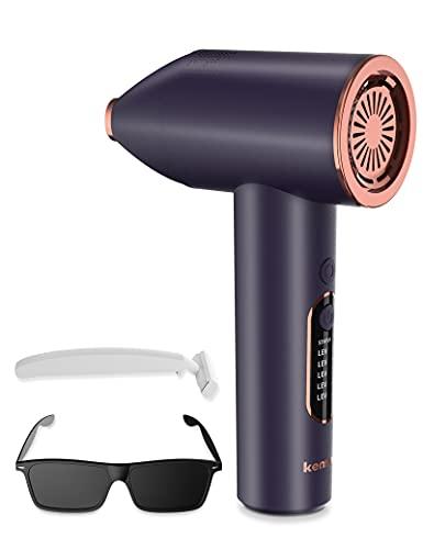 IPL Haarentfernungsgerät für Männer und Frauen, Dauerhaft Schmerzlos Haarentfernung,IPL Geräte Haarentfernung für Hautfarbe aufhellen Hautverjüngung,Geeignet für Körper Gesicht Bikinibereich Achseln
